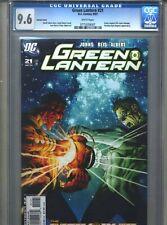 Green Lantern #21 CGC 9.6 (2007) Variant Sinestro Corps War