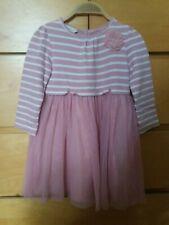 Girls monsoon pink dress 2-3 years