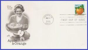 USA5 #3492 U/A ARTCRAFT FDC   Orange