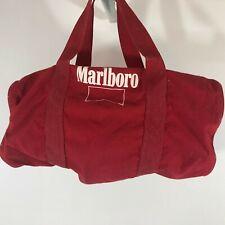 MARLBORO Small Red  Tote Bag 16x8x7 vintage