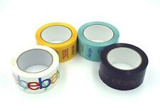 New! Four 4 Rolls of Purple, Blue, and Yellow eBay-Branded Packaging Tape
