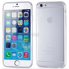 Ultra Thin Soft TPU Transparent Clear Skin Case Cover for iPhone 6S 6S Plus