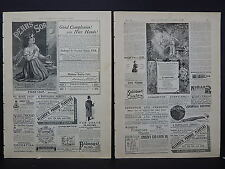 Illustrated London News Ads Two Pages c.1888 S3#1 Pears' Soap, Floriline