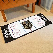 """Vegas Golden Knights 30"""" X 72"""" Hockey Rink Runner Area Rug Floor Mat"""