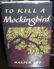 Harper Lee To Kill A Mockingbird 1960 Hc Dj 1st edition 8th printing with photo
