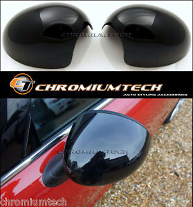 MK3 MINI Cooper/S F54 F55 F56 F57 F60 BLACK Wing Mirror Cap Covers for LHD Model