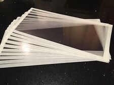 5 X Acetate Sand Shot blasting cabinet visor Screen 800mm X 320mm Any Size Avail