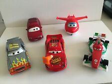 Disney/Pixar Diecast Cars Lot 5 Movie Lightning Cartrip Francesco Grand Prix
