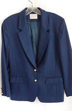 Pendelton Navy Blue Wool Blazer Size12