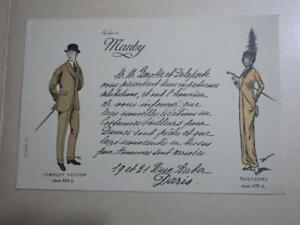 1910.publicité tailleur Marby (Barotte Delaporte.rue Auber Paris).mode fashion.