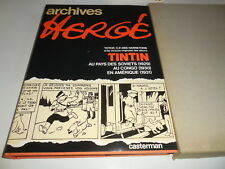 REEDITION ARCHIVES HERGE TOME 1/ TTBE/ 1979/ TINTIN