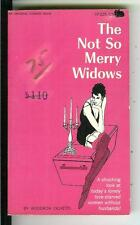 THE NOT SO MERRY WIDOWS, rare US Viceroy Book #225 sleaze erotic pulp vintage pb