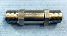 """Swagelok SS-8C2-1/3 Stainless Steel Poppet Check Valve 1/2"""" MNPT 1/3 PSI - NEW"""