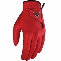 Callaway Golf Opti Colour Cardinal Red Leather Glove (LH)