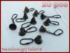 Bell Key Chain Brass Nautical Maritime Collectible Lot Of 20 Pcs Antique Gift