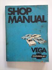 1971 Chevrolet VEGA Shop Service Repair Manual Engine Drivetrain Electrical OEM