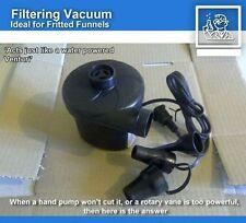 Filtering vacuum pump electric