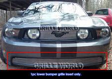 Fits 2010-2012 Ford Mustang GT V8 Lower Bumper Billet Grille Insert