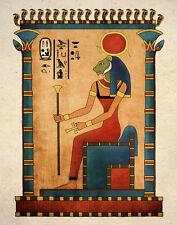 Ancient Egyptian Art Print Goddess Sekhmet Wall Decor