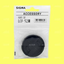 Sigma LCF-52 III Front Lens Cap 52mm Lens Dust Cover Protector