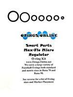 Smart Parts Max Flo Micro Reg Paintball O-ring Oring Kit x 4 rebuilds / kits