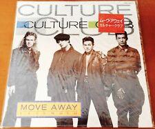 "CULTURE CLUB Move Away RARE 1986 JAPAN 12"" NUMBERED DJ PROMO VINYL - Boy George"