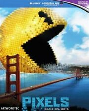 Pixels Blu-ray 2015 Region Adam Sandler