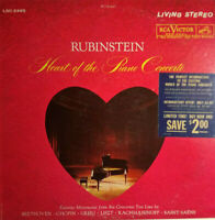 RCA LIVING STEREO LSC-2495 *SHADED DOG* HEART OF PIANO CONCERTO RUBINSTEIN EX/NM