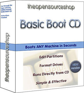 BASIC BOOT CD - A SIMPLE DOS BOOT CD FOR MACS & WINDOWS OSs