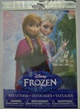 Disney Frozen Tattoos, Pack of 50