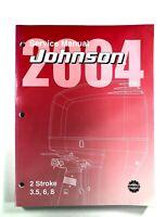 2004 Johnson Service Manual SR 2 Stroke 3.5 6 8 HP Outboard Motor 5005634
