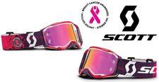 New Scott Breast Cancer Awareness LE Prospect Goggle Pink Black ATV MX Motocross
