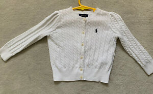 Authentic Childrens Toddler Ralph Lauren Cardigan Jumper