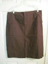 New Women's Brown Skirt By Spring Street size 20