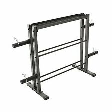 Marcy Combo Weights Storage Rack for Dumbbells Kettlebells and Weight Plates