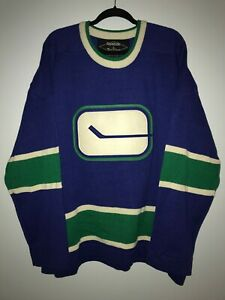 FREE SHIP NEW Vancouver Canucks sweater XXL 2xl Reebok Roger Edwards jersey