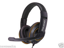 OVLENG Q1 USB Gaming Headset Over-ear Noise Cancelling with Mic for Computer_ora