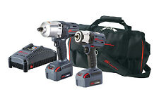 "Ingersoll Rand IQV 20V 3/8"" & 1/2"" High Torque Impact Wrench Combo IR IQV20-2062"