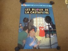 The Castafiore Emerald (Les Bijoux De La Castafiore) Original Tintin Poster