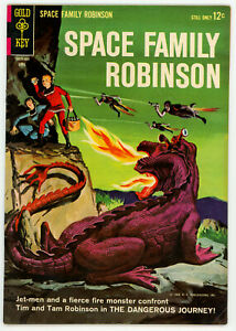 JERRY WEIST ESTATE: SPACE FAMILY ROBINSON #7 (FN) & 10 (VG+) (Gold Key 1964)