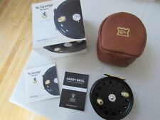 NEW BOXED UNUSED HARDY ST GEORGE HOTSPUR 9/10 RHW SALMON FLY FISHING REEL