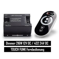 LED Dimmer PWM 12/24v bis 12a Touch Funkfernbedienung