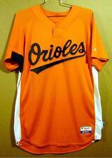 BALTIMORE ORIOLES RYAN ADAMS Orange #2 SPRING TRAINING MLB GAME WORN JERSEY