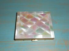 Mother Of Pearl Vintage Mirrored Compact