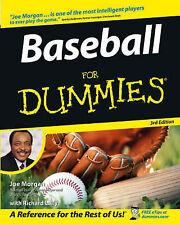 Baseball For Dummies by Joe Morgan, Richard Lally (Paperback, 2005)