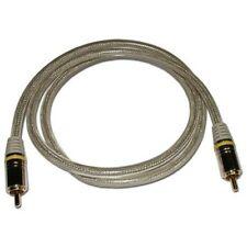 3ft Single Premium RCA Cable, Oxygen Free Copper