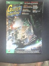 THE GAMES MACHINE 119 Maggio 1999 ALIEN VS PREDATOR COMMANDOS 210 PAGINE