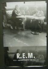 R.E.M. PROMO POSTER NEW ADVENTURES IN HI-FI 1996 E-BOW THE LETTER BITTERSWEET ME