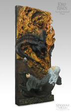 You shall not pass! wall plaques de sideshow weta Balrog + Gandalf