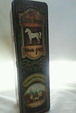 Vintage The White Horse Scotch Whisky Advertising Tin Edinburgh Scotland